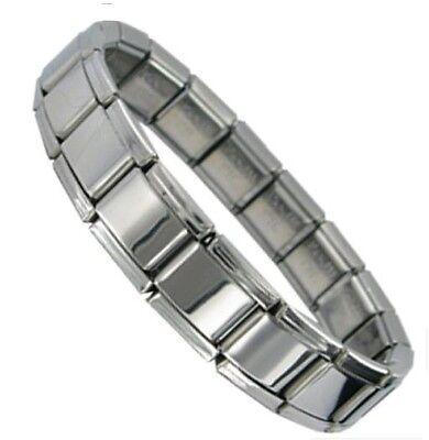 Italian Charm SHINY Starter Bracelets - 9mm Classic Size - Add Links Charms