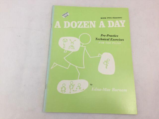 A Dozen A Day - Book 2 - Elementary - For The Piano - Edna-Mae Burnam - (F)