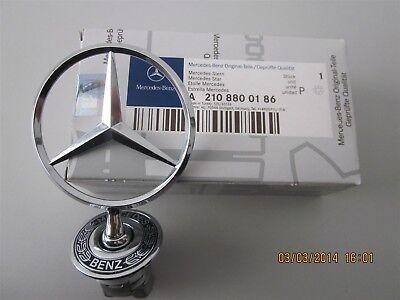 Original Mercedes-Benz Stern Motorhaube S-Klasse W220 CLK C208 A2108800186