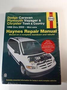 HAYNES 30011 Dodge//Plymouth//Chrysler Mini-Vans 1996-2002 Repair Manual