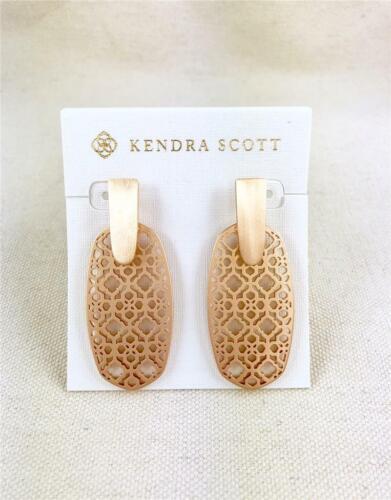 Kendra Scott Aragon Rose Gold Filigree Earrings
