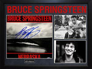 Bruce-Springsteen-Signed-Nebraska-Album-Cover-Display-AFTAL-UACC-RD-COA-PSA