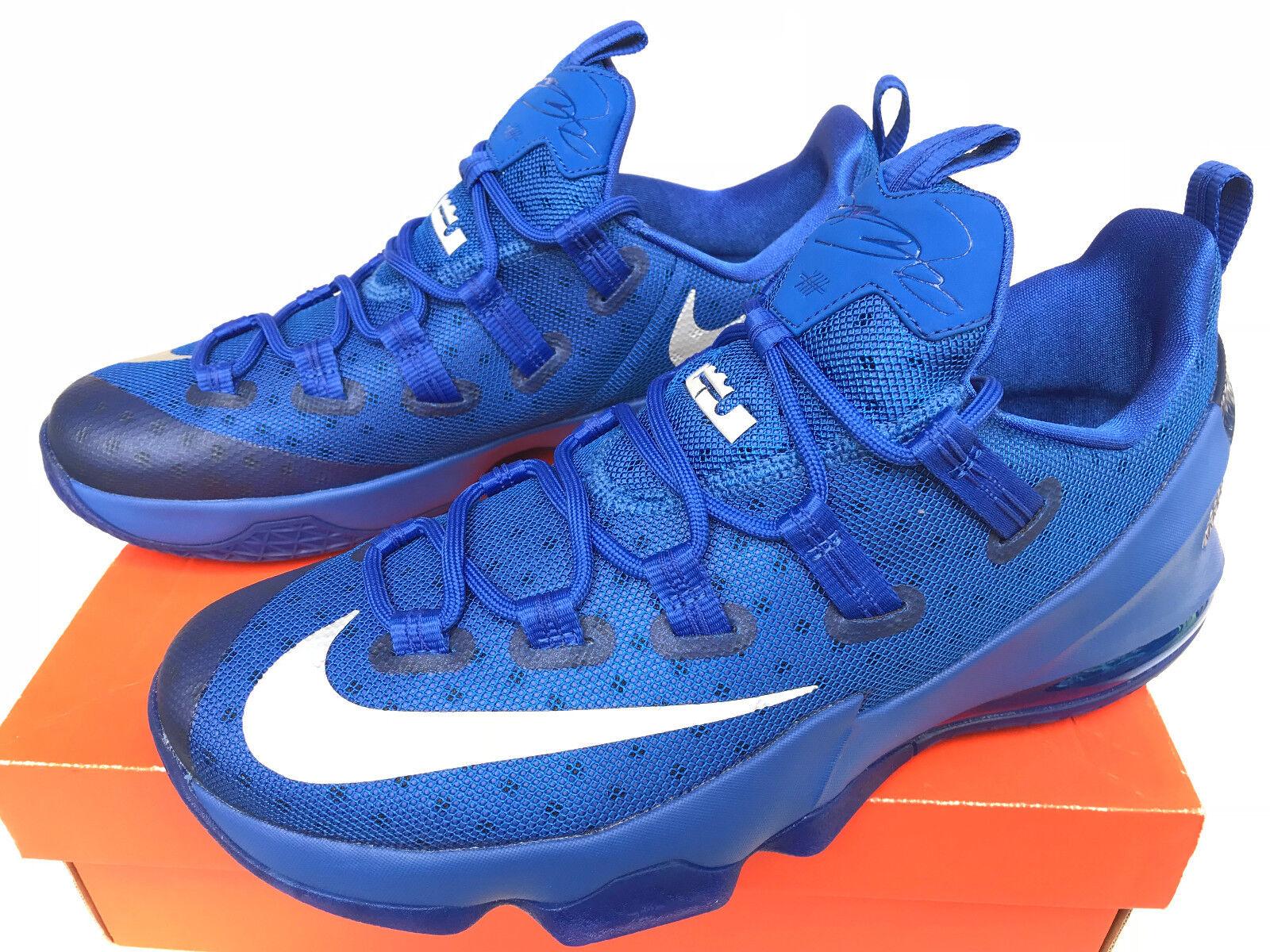 Nike lebron 831925-400 xiii 13 niedrig 831925-400 lebron kentucky royal basketball - schuhe für männer 13 neue 79a401