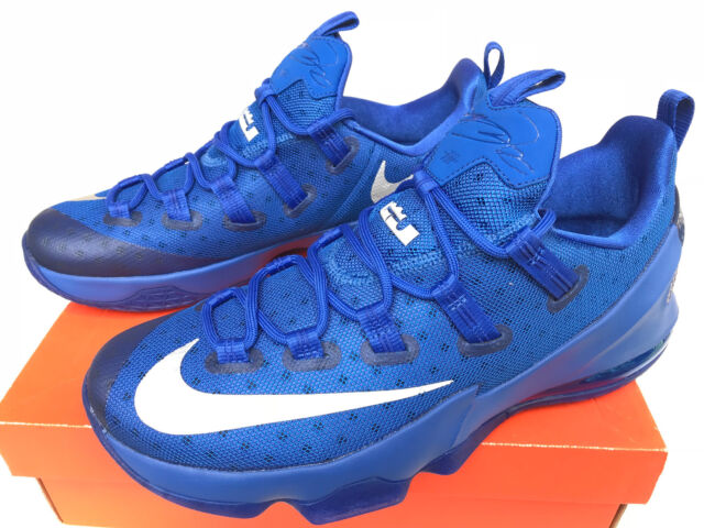 premium selection e7553 249b1 Nike LeBron XIII 13 Low 831925-400 Kentucky Royal Basketball Shoes Men s  10.5