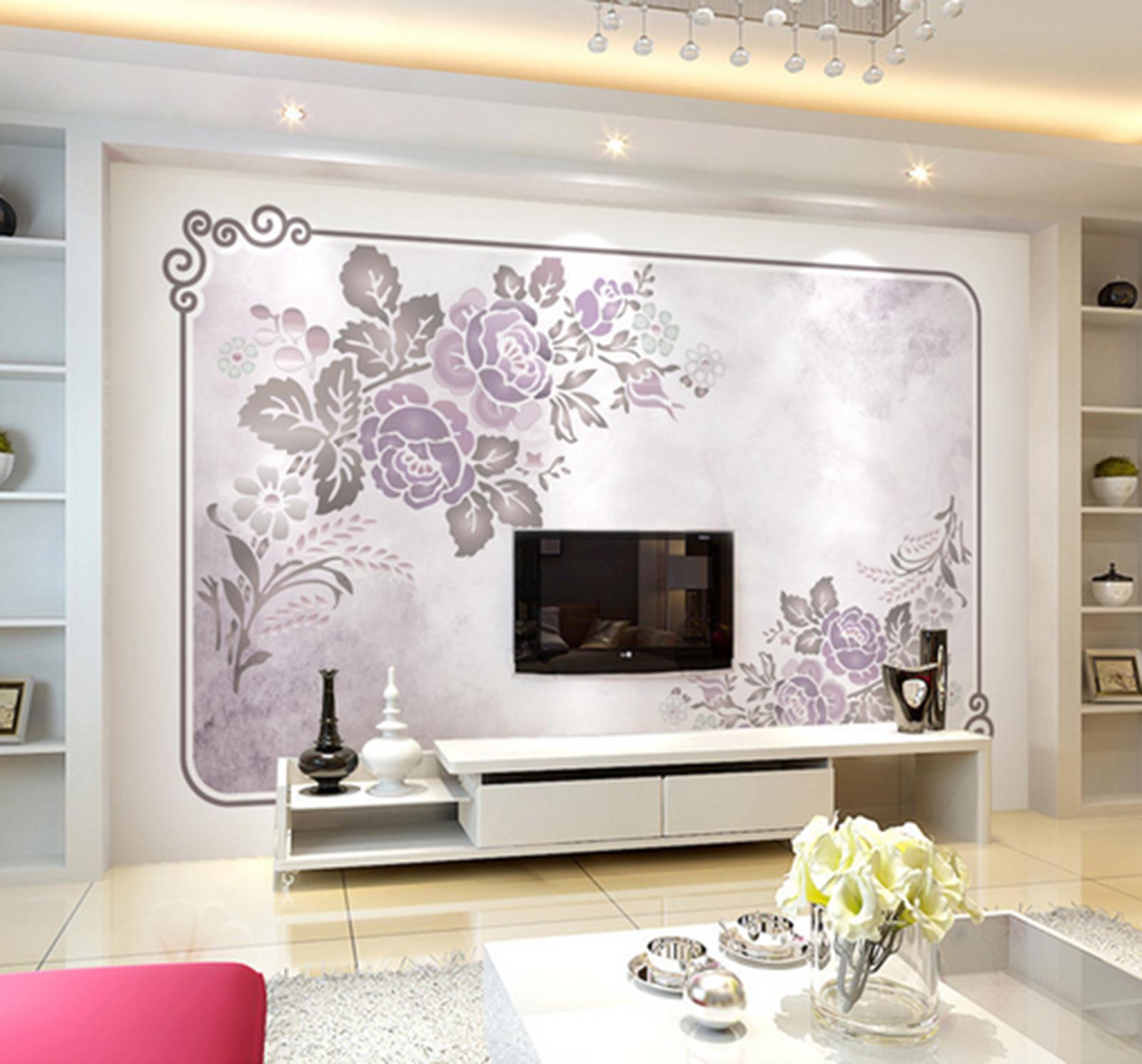 3D Petals Adorn 657 Wallpaper Murals Wall Print Wallpaper Mural AJ WALL AU Kyra