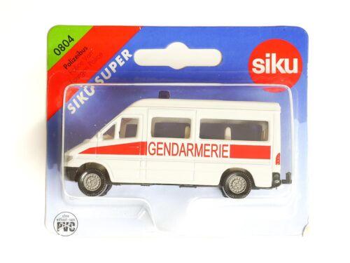 OVP 0405 Siku 0804 Mercedes Poizei Bus Gendarmerie
