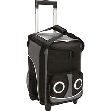 Bellino Rolling Speaker Cooler - Black/Grey Travel Cooler NEW
