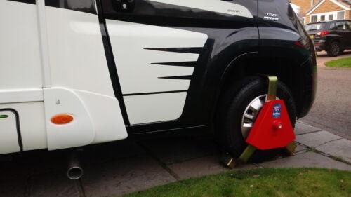 Bulldog Centaur Wheel Clamp CA2000 Caravans,Cars and Trailers