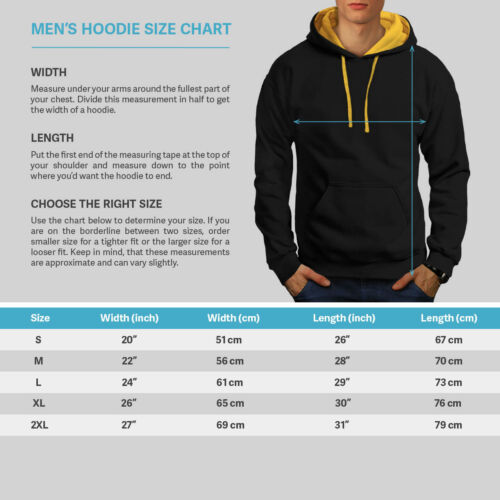 Contrast gold Hood Fidati New Hoodie Funny Black me sono Men di Ronin PAawAHqY