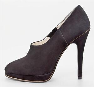 Womens-Shoes-Juicy-Couture-J1270316-EYLSSA-Platform-Heels-Bootie-Kidsuede-Black