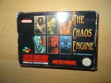 The Chaos Engine -   Super Nintendo SNES BOXED PAL VERSION