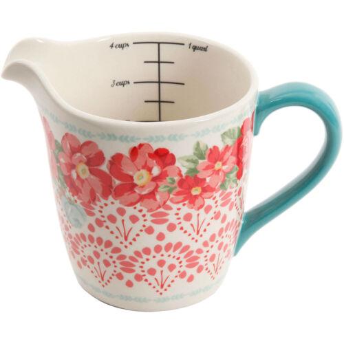 4 Cups Measuring Cup 4 Piece Measuring Bowls The Pioneer Woman 5 Piece Set