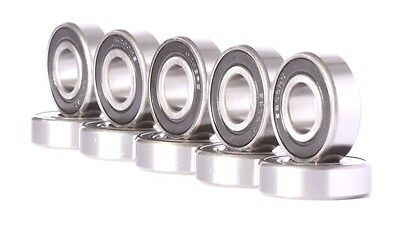 Qty.2 6203-2RS Premium 6203 2rs seal bearing HCH ball bearings 6203 RS ABEC3