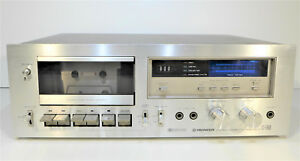 Tape-cassette-Pioneer-CT-F650-cassette-deck-hifi-metal-tape-capable-stereo-playe