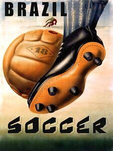 Image Is Loading Soccer Best Game Brazil Brasil World Football Sport