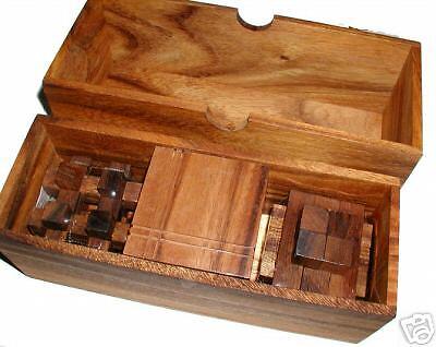Puzzle-Pro I Gift Set wood brain teaser puzzle