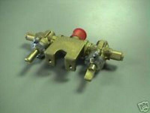 Charmglow CC1 Dual Lid Gas Grill Propane LP Brass Valve Assembly New VLV14-B