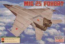 1:144 Minicraft 14654 MIG 25 Foxbat USSR/Libya Plastic Model Kit NIB