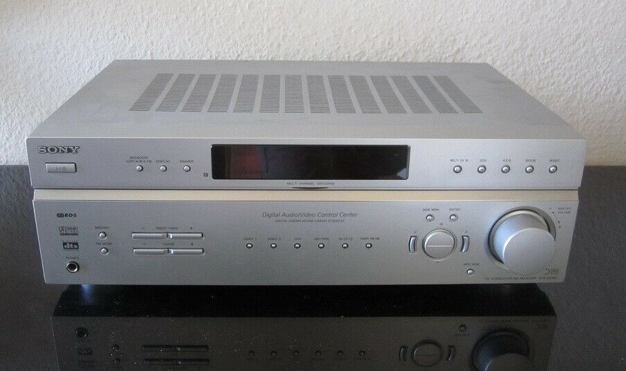 Receiver, Sony, STR-DE497