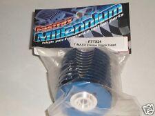 FTTX24 Fastrax Blue Aluminum Nitro Engine Heat Sink Head For: Traxxas T-Maxx New