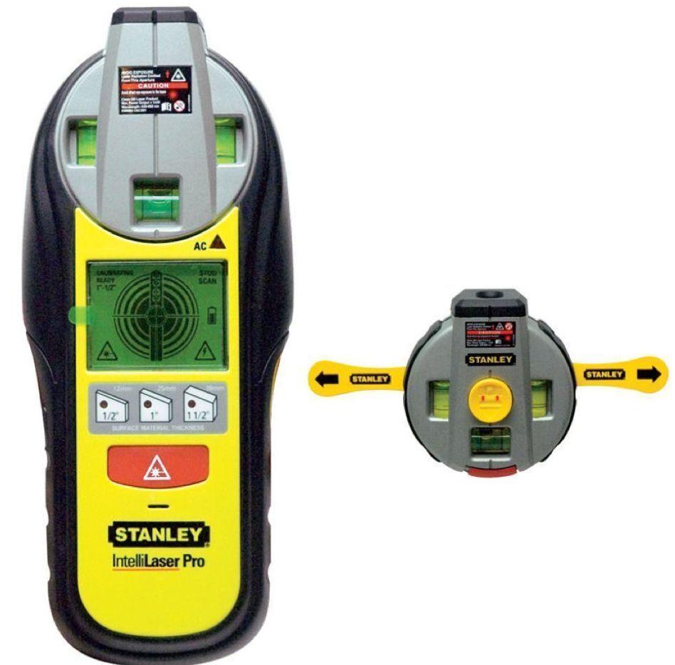Tracciatore livella laser Rilevatore misuratore Stanley Intellisensor 0-77-500