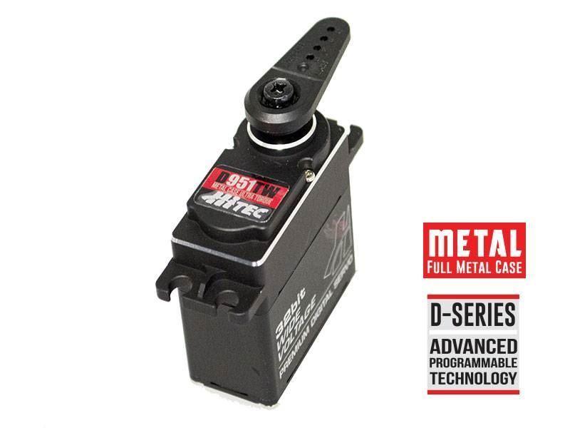 Hitec RCD - D-951TW 32-Bit, Ultra Torque, TG Servo .14sec 486oz @ 7.4v