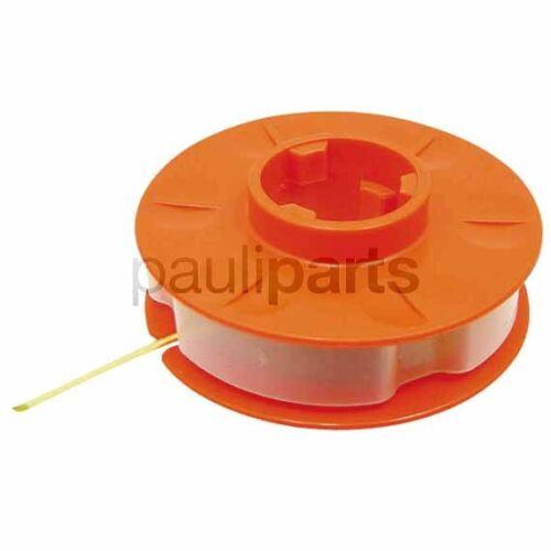 einfadenspule 23-350 ve: 2 diverse Sabo trimmerspule diámetro 1,4 mm