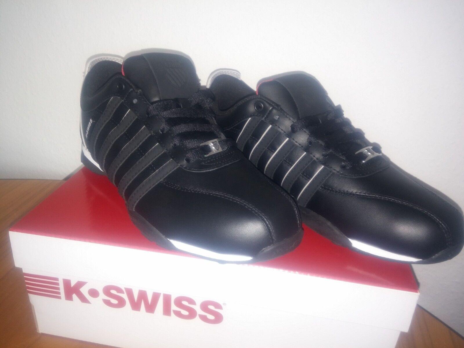 K-Swiss ARVEE 1.5 Herren Turnschuhe Schuhe, Schwarz Größe 40 , , , 6,5 Neu und Ovp      Merkwürdige Form  099706