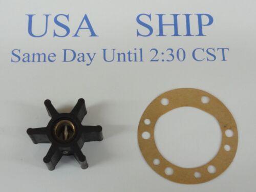Impeller Kit Replaces Yanmar Marine Diesel 104211-42071 and Gasket 104211-42090