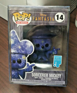 "DISNEY FANTASIA SORCERER MICKEY NEW 4/"" Vinyl Pop Figure 990, 2020,Funko Pop!"