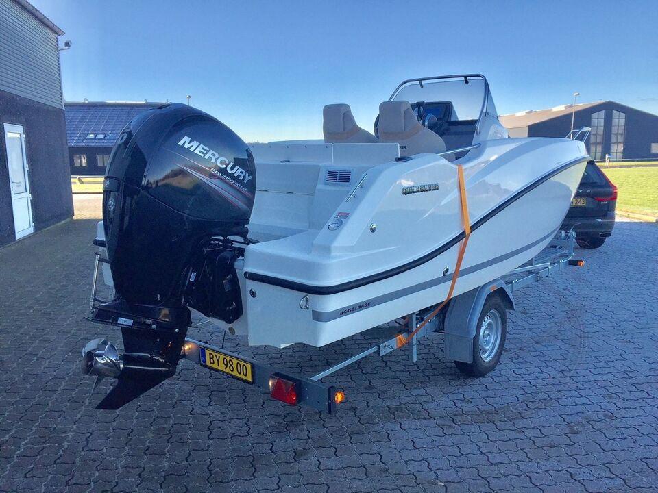 Quicksilver 555 Open, Styrepultbåd, årg. 2017