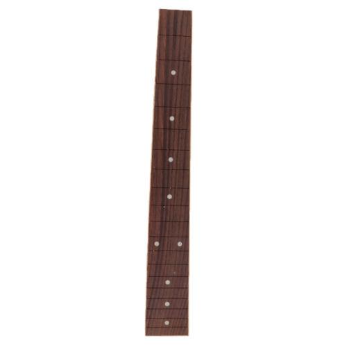 E Gitarre Palisander Griffbrett Griffbrett für Gitarre Luthier 19 Fret