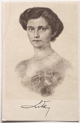 ~~~ ORGINAL~~~OSTKARTE ~~~aus Österreich Kapuzinergruft Kaiserin Zita