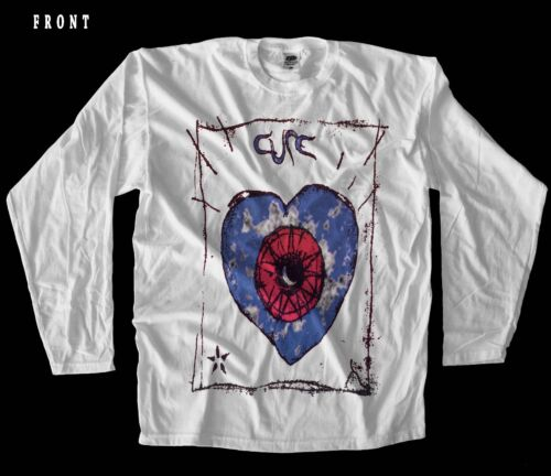 Friday I/'m in Love THE CURE rock band,WHITE T-shirt LONG SLEEVE-sizes:S to XXL