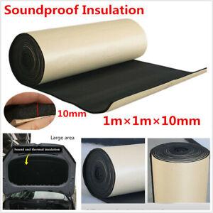 10mm-Car-Sound-Proof-Heat-Shield-Insulation-Noise-Deadening-Acoustic-Foam-Mat