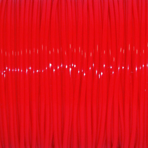 SPOOL NEON RED S/'GETTI REXLACE PLASTIC LACING CRAFTS CYBERLOX 45m 50 YARDS
