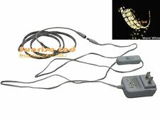 3528 Led Strip 1M 60 leds warm white water proof+12V0.5A adapter US plug+switch