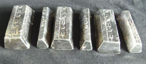 1.8kg of Quality Mini Scrap Lead Ingots 99/% Dross Removed Fishing Weight Ballast