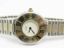 Cartier Must de Cartier 21 Stainless Steel and Gold Ladies Used Watch