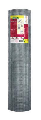 Ambitieus Garden Zone 48 In. W X 100 Ft. L Silver Gray Steel Hardware Cloth 1/4 In.