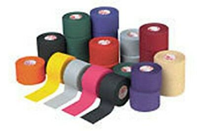 """Mueller MTape Athletic Tape Sports Tape Colors 1 ½"""" x 10 yds - 6 Roll Pack"""