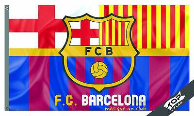 Barcelona Flag Banner 3x5 ft Spain Soccer Bandera banner