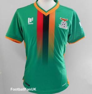 Détails sur La Zambie officiel MAFRO Home Football Shirt 2017 2018 New Men's Soccer Jersey afficher le titre d'origine