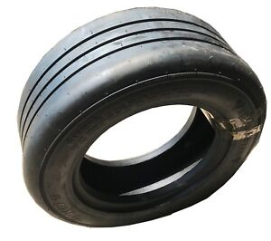 New-Tire-amp-JS2-Stem-Tube-24x8-14-BUSHMASTER-RIB-TR508-20Ply-Batwing-Mower-SIL
