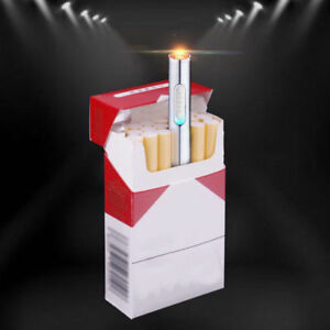 Mini-USB-Rechargeable-Electric-Lighter-Flameless-Windproof-Cigarette-Lighter