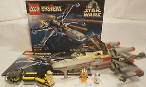 Vintage 1999 Lego Set #7140 Star Wars: X-Wing Fighter - 100% comp w/box/instruct | eBay