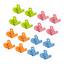 Colored Magnets,Perfect Fridge Kitchen Whiteboard for H 16 Magnetic Metal Clips