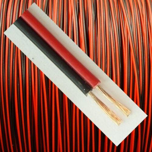 Modellbau-Minilitze 0,04mm² 10m-Ring 2polig rot//schwarz verdrillt 0,69 €//m