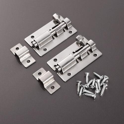 4x Tower Slide Bolt Small-Large Strong//Garden//Gate//Metal//Door//Catch//Lock