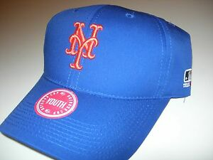 55a956096de New York Mets Hat MLB Replica Adjustable Pre Curved Baseball Cap ...